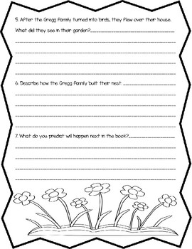 The Magic Finger by Roald Dahl Open Book Quiz (pages 1 - 35)