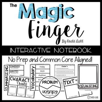 The Magic Finger:  Reading Response Activities