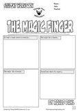 The Magic Finger Workbook (Comic Style) Roald Dahl