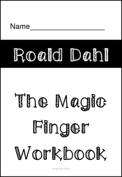 The Magic Finger Workbook by Roald Dahl
