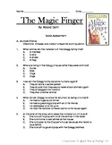 The Magic Finger, by Roald Dahl- Book Assessment