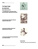 The Magic Finger by Roald Dahl Vocabulary and Comprehension Packet