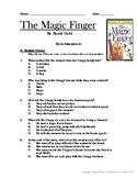 The Magic Finger, by Roald Dahl- book assessment