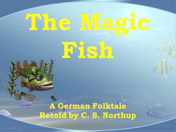 The Magic Fish: A Close Read Animated PowerPoint Unit *CCSS Aligned!*
