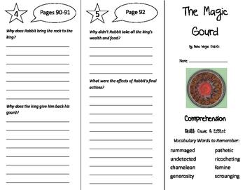 The Magic Gourd Trifold - Treasures 6th Grade Unit 1 Week 4