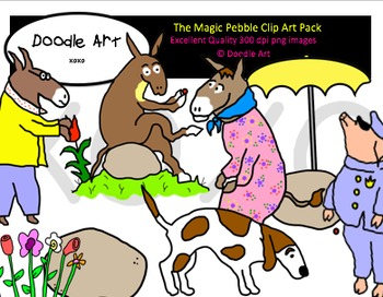 The Magic Pebble Clipart Pack