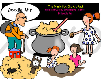 The Magic Pot Clipart Pack
