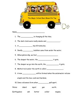 The Magic School Bus: Blows Its Top