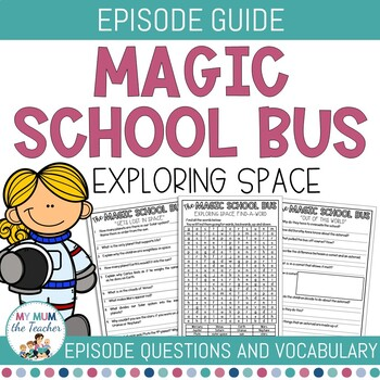the magic school bus dvd questionnaire space by my mum the teacher. Black Bedroom Furniture Sets. Home Design Ideas