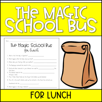 The Magic School Bus For Lunch