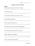 The Magic School Bus Get's Planted Episode Questions