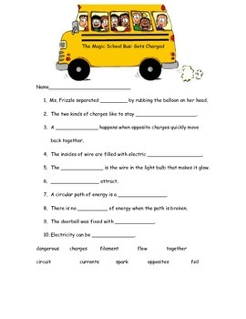 The Magic School Bus: Gets Charged