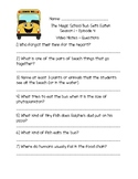The Magic School Bus Gets Eaten - Questions and Writing