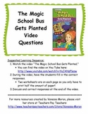 The Magic School Bus Gets Planted Video Questions