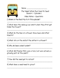 The Magic School Bus Goes to Seed  - Questions and Writing