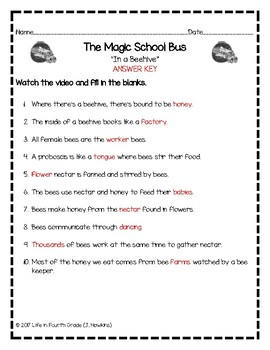 The Magic School Bus: In a Beehive (Video Guide)