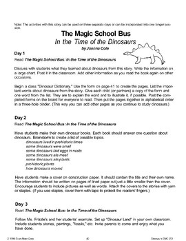 The Magic School Bus: In the Time of the Dinosaurs