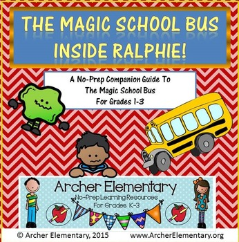 The Magic School Bus Inside Ralphie: No-Prep Companion Guide