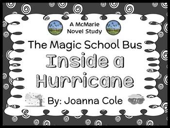 The Magic School Bus Inside a Hurricane (Joanna Cole) Book Study  (22 pages)