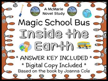 The Magic School Bus Inside the Earth (Joanna Cole) Book Study (19 pages)