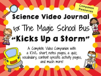 The Magic School Bus: Kicks Up a Storm - Video Journal