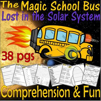 Magic School Bus : Lost in the Solar System Book Companion Science Literacy Unit