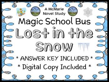 The Magic School Bus: Lost in the Snow (Scholastic Reader Level 2) Novel Study
