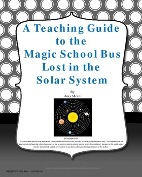 The Magic School Bus Lost in the Solar System: A Teaching Guide