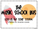 The Magic School Bus Lost in the Solar System Common Core Activities