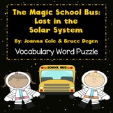 The Magic School Bus: Lost in the Solar System - Vocabulary Word Puzzle