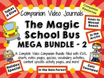 The Magic School Bus Mega Bundle 2 - Video Journals