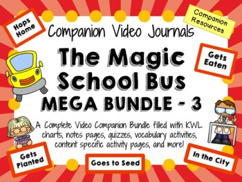 The Magic School Bus Mega Bundle 3 - Video Journals