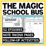 The Magic School Bus Note Taking Pages & Activities   Read