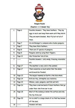 The Magic School Bus Penguin Puzzle - Book Study