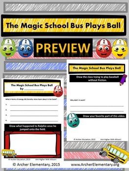 The Magic School Bus Plays Ball: No-Prep Companion Guide