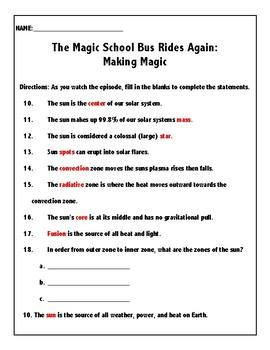 The Magic School Bus Rides Again: Making Magic