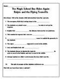 The Magic School Bus Rides Again: Ralphie and the Flying T