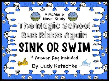 The Magic School Bus Rides Again: Sink or Swim (Katschke) Novel Study (20 pages)
