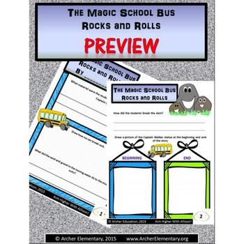 The Magic School Bus Rocks and Rolls: No-Prep Companion Guide