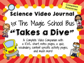 The Magic School Bus: Takes a Dive - Video Journal
