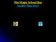 The Magic School Bus: Voyage to the Center of an Atom