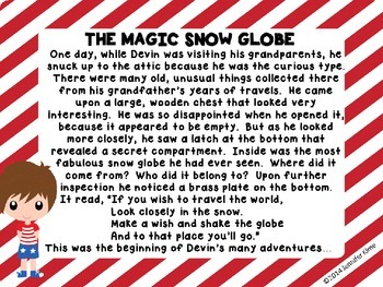 The Magic Snow Globe - Christmas Around the World – France