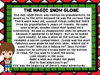 The Magic Snow Globe - Christmas Around the World - Israel