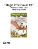 """""""The Magic Tree House"""" #1 (Dinosaurs Before Dark) Chapter Questions"""