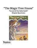 """""""The Magic Tree House"""" #7 (Sabertooth) Chapter Questions"""