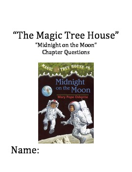"""The Magic Tree House"" #8 (Midnight) Chapter Questions"