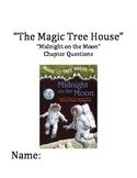 """""""The Magic Tree House"""" #8 (Midnight) Chapter Questions"""