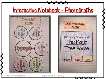The Magic Tree House - Any Fiction Novel in the Series {Interactive Notebook}
