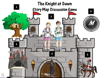 The Magic Tree House (Books 1-4) Story Map Discussion Games
