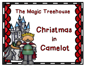 The Magic Tree House Christmas in Camelot 2nd Grade Story Pack